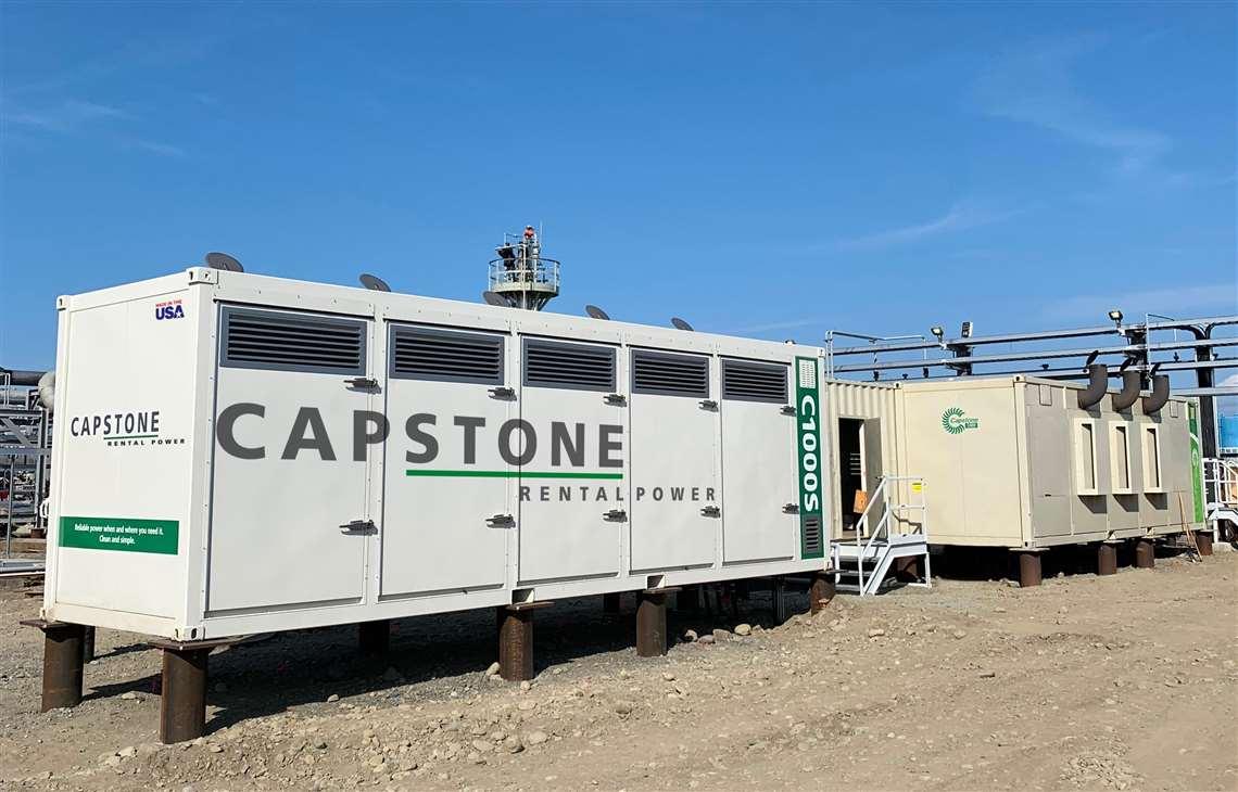 Capstone Rental Generator Turbine Natural Gas Propane CNG LNG